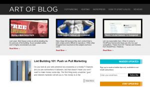 art of blog in 2010