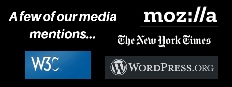 HTML.com media mentions